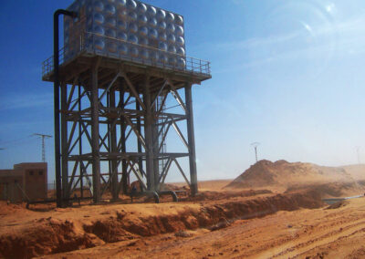 Water transfer and supply project from In-Salah to Tamanrasset