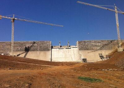 Dam at Salineiro, Saquinho and Faveta in Santiago Island – Cape Verde